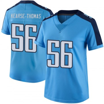 Women's Tennessee Titans Khaylan Kearse-Thomas Light Blue Limited Color Rush Jersey By Nike