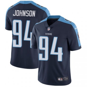 Youth Tennessee Titans Austin Johnson Navy Blue Limited Alternate Jersey By Nike
