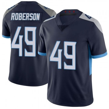 Youth Tennessee Titans Derick Roberson Navy Limited 100th Vapor Untouchable Jersey By Nike