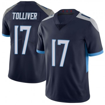 Youth Tennessee Titans Jalen Tolliver Navy Limited 100th Vapor Untouchable Jersey By Nike
