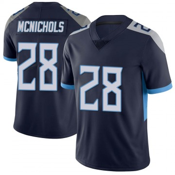 Youth Tennessee Titans Jeremy McNichols Navy Limited Vapor Untouchable Jersey By Nike