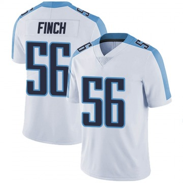 Youth Tennessee Titans Sharif Finch White Limited Vapor Untouchable Jersey By Nike