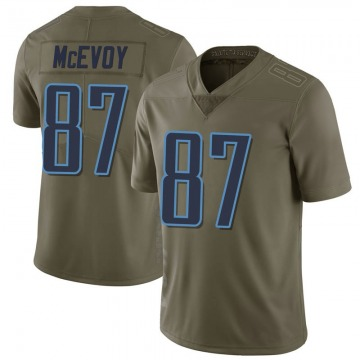 Youth Tennessee Titans Tanner McEvoy Green Limited 2017 Salute to Service Jersey By Nike